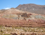 Tailings pile at Pulacayo