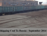 Shipping Coal To Russia – September 2014