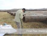 Final Pipe Welding